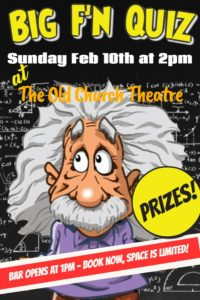 The BIG F'n Quiz @ Old Church Theatre