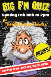 The BIG F'n Quiz @ Old Church Theatre