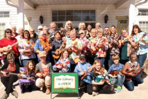The Colborne Library Ukulele Band @ Old Church Theatre
