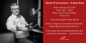 World of Voiceover - A New Year!