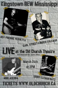 Kingstown NEW Mississippi @ Old Church Theatre