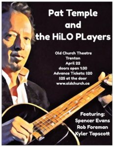 Pat Temple & the HiLO Players @ Old Church Theatre | Quinte West | Ontario | Canada