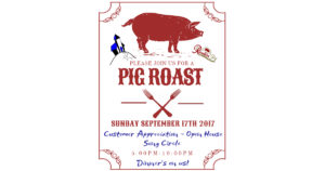 Customer Appreciation Pig Roast @ Old Church Theatre
