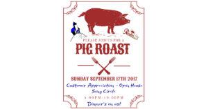 Customer Appreciation Pig Roast @ Old Church Theatre