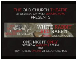 White Rabbit Red Rabbit @ Old Church Theatre