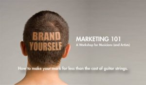 Brand Yourself-Marketing 101 for Musicians and Artists @ Old Church Theatre