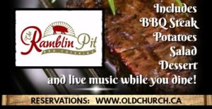 BBQ Steak Dinner @ Old Church Theatre