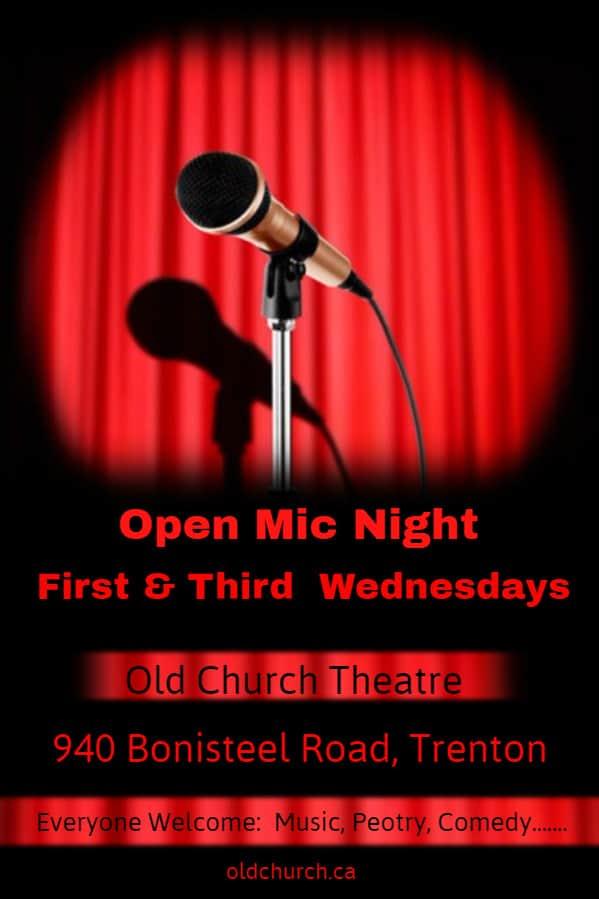 Open Mic @ Old Church Theatre