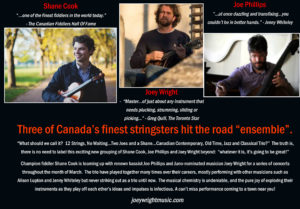 Shane Cook,  Joey Wright & Joseph Phillips @ Old Church Theatre
