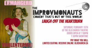 Laugh Off the Heartburn @ Old Church Theatre